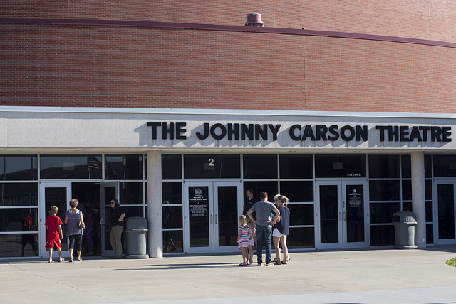 johnny carson, norfolk arts center